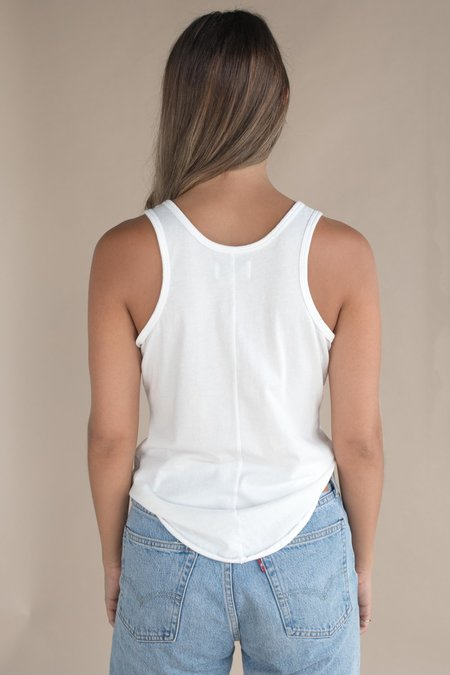 Mate the Label The Flynn Tank - True White