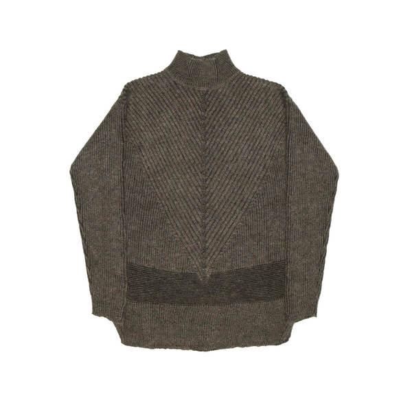 f327ff6eaa9 RICK OWENS Fisherman Turtle sweater - Brown on Garmentory
