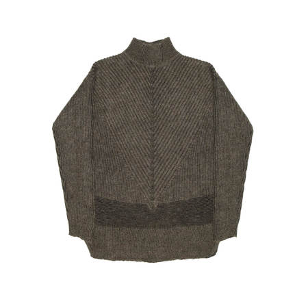 RICK OWENS Fisherman Turtle sweater - Brown