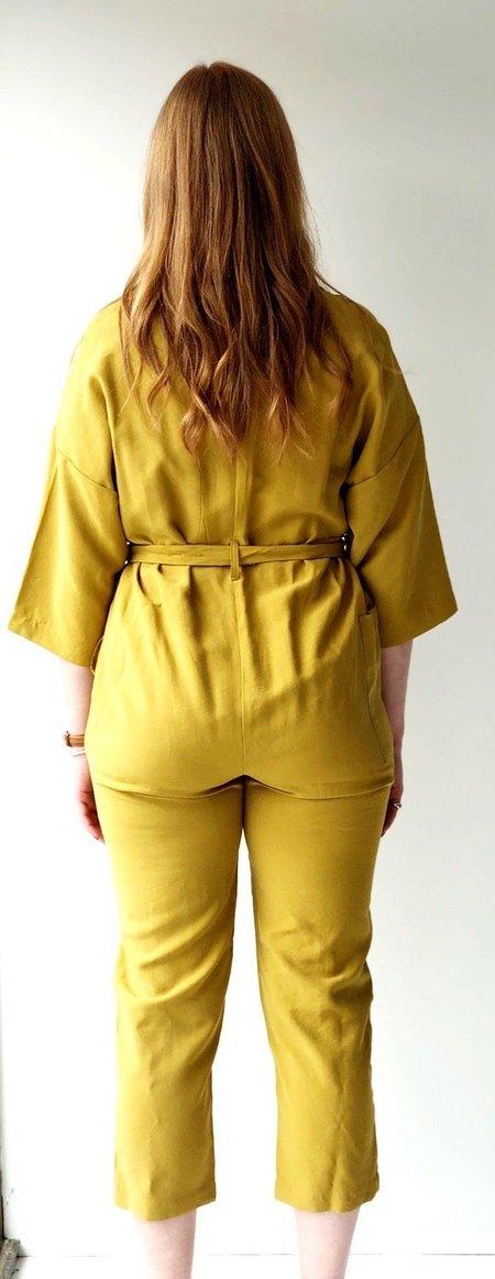 Native Youth rosie jumpsuit - mustard