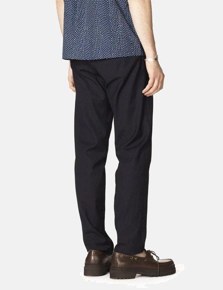 A.P.C. Pantalon Kaplan Pants - Dark Navy Blue