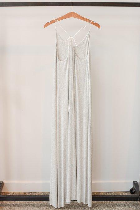 Beautiful People Modal Rib Tie Back Dress - Oatmeal