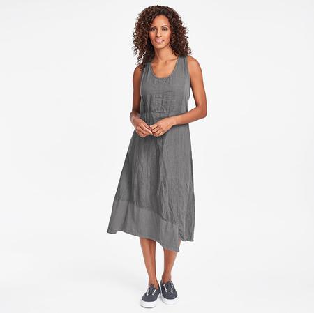 Flax Designs Midtown dress - cement