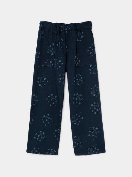 Kids Bobo Choses Benny Straight Trousers - Estate Blue
