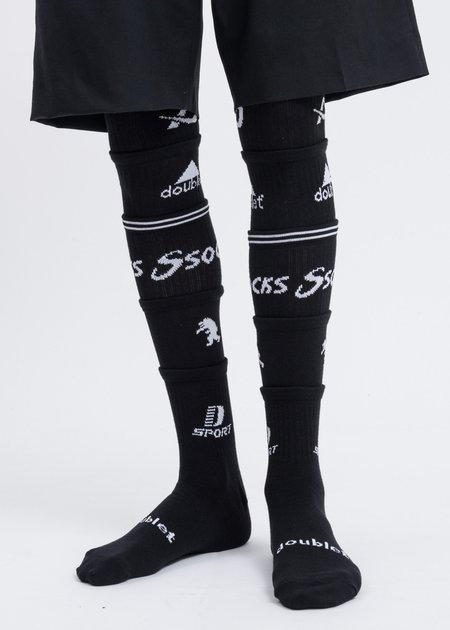 Doublet 5 Layered Socks - Black