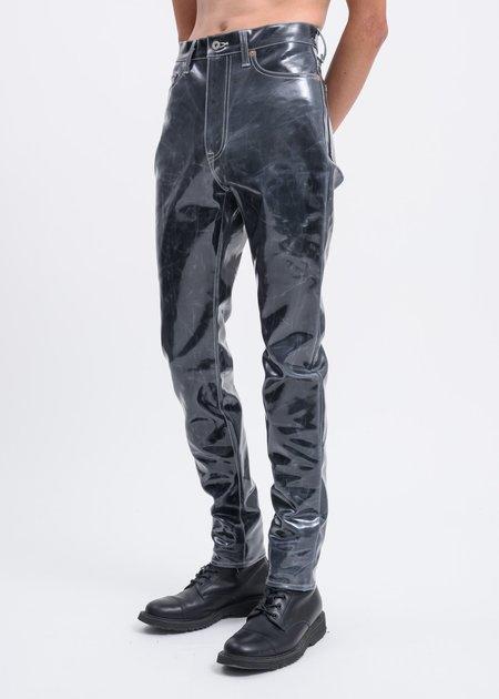 Doublet Skinny Denim Pants - Black Coating