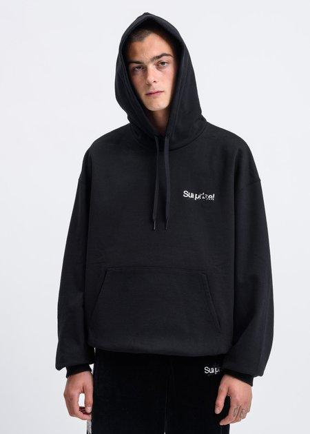 "Doublet ""Horror"" Embroidery Hoodie - Black"