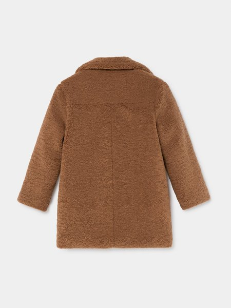 Kids Bobo Choses Mercury Sheepskin Jacket - Brown