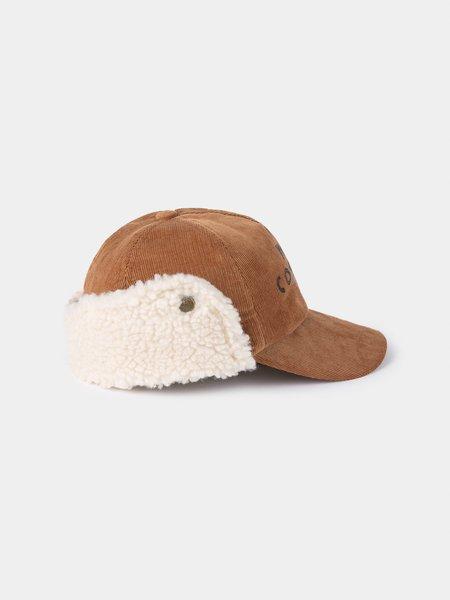 Kids Bobo Choses Sheepskin Cap - Curry