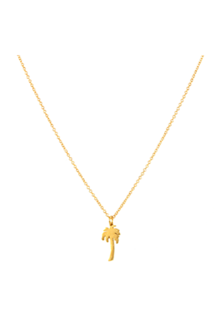 Jurate Brown Cali Necklace - Gold