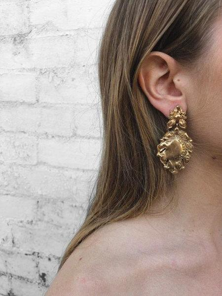 BEFORE MARCH Sona earrings - GOLD