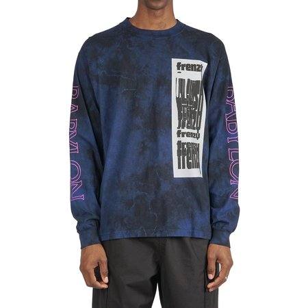 BABYLON LA FRENZY LS TEE - ROYAL