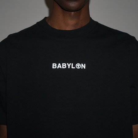 BABYLON LA SHOP 3M TEE - BLACK