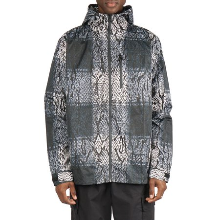 BABYLON LA SNAKE GINGHAM WINDBREAKER