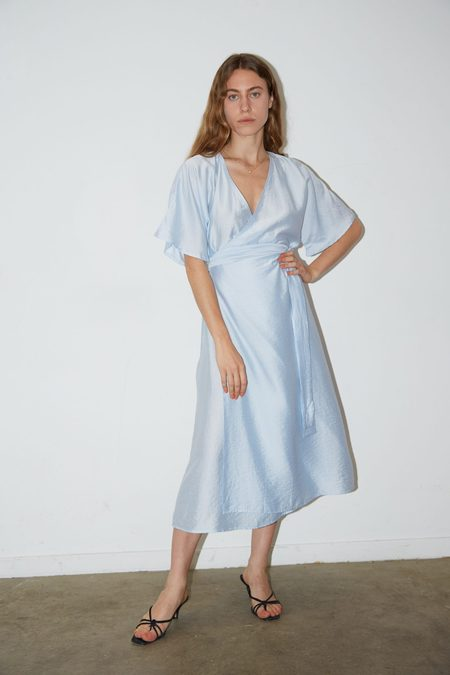 Aéryne EMILIE DRESS - Bleu Ciel
