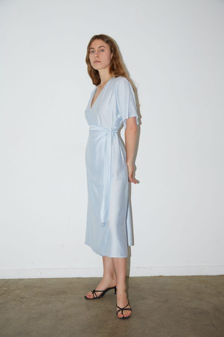 Aéryne EMILIE DRESS - Bleu Ciel
