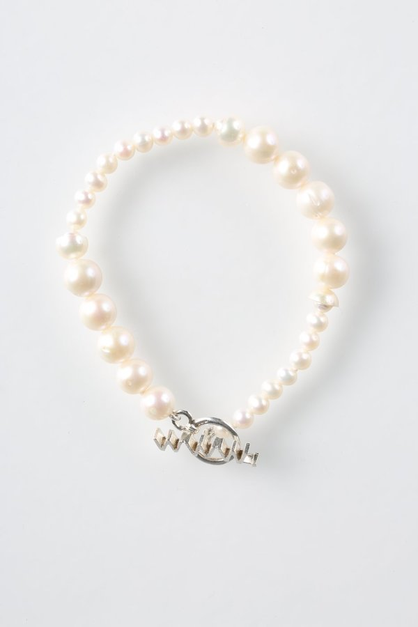 WWW. WILL SHOTT FUSED PEARL BRACELET