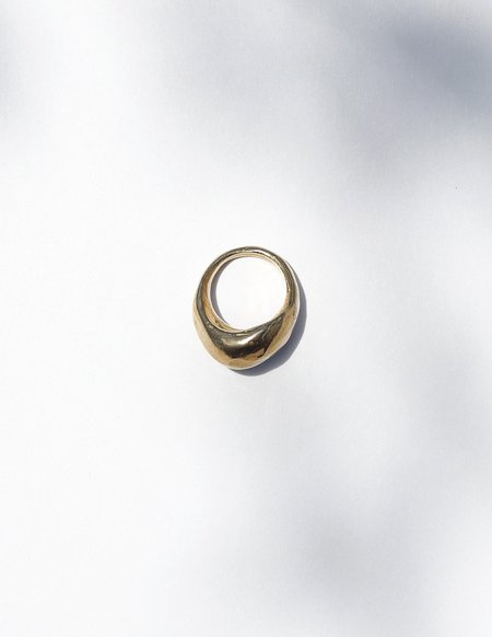 Cashmere Cactus Stout Ring - Recycled Brass