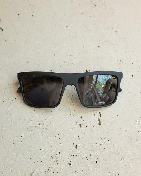 Quay Let It Run Sunglasses - Matte Black