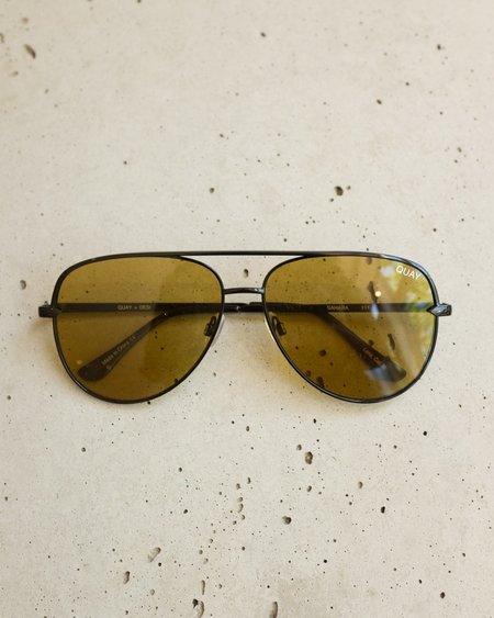 Quay Sahara Sunglasses - Olive