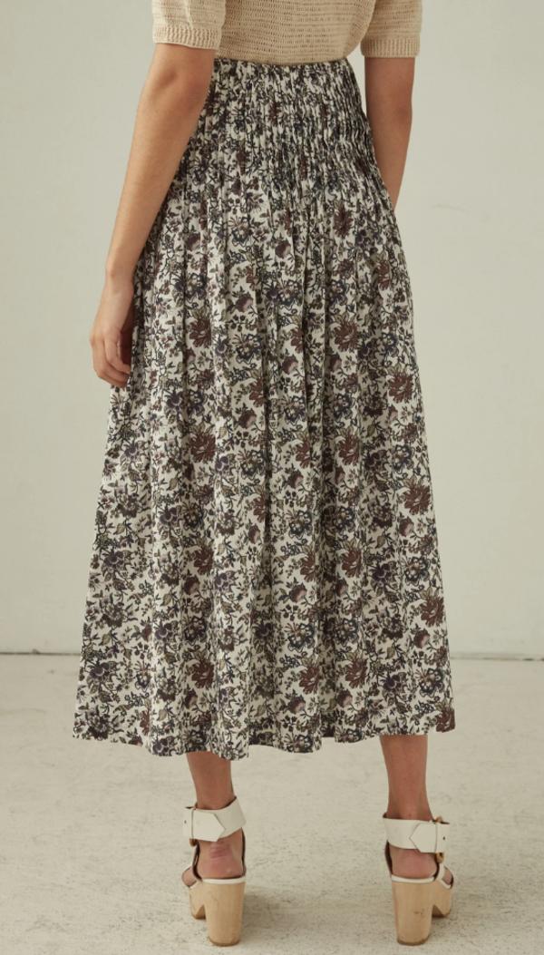 Rachel Comey Chancery Skirt - Brown Liberty Lawn