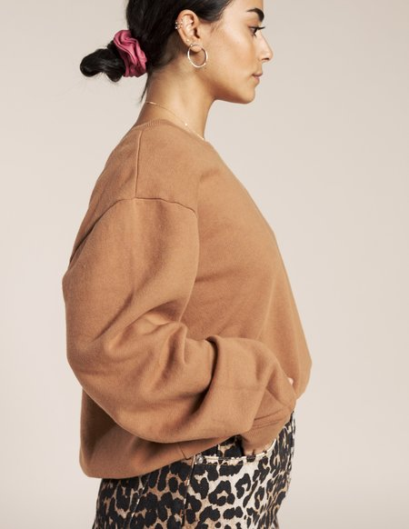 Joah Brown Get It French Terry Pullover - Toast