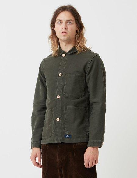 Bleu De Paname Veste De Comptoir Jacket - Metro Green