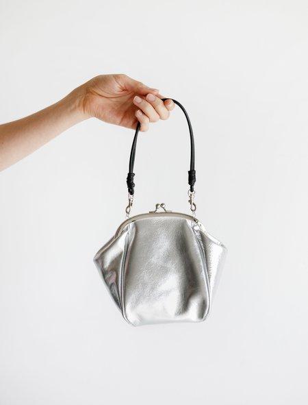 Ys by Yohji Yamamoto Chubby Clasp Bag - Silver