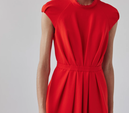 Rachel Comey Jacmar Dress - Electric Red