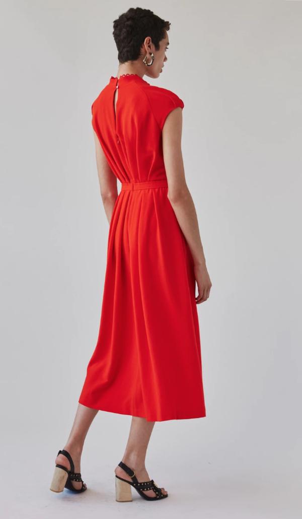 Rachel Comey Jacmar Dress - Electric Red