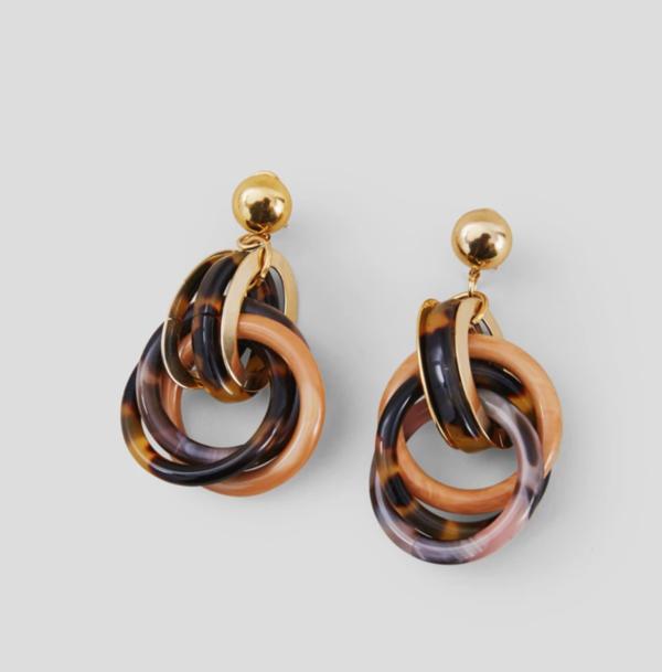 Rachel Comey Tangle Earring - Tortoise