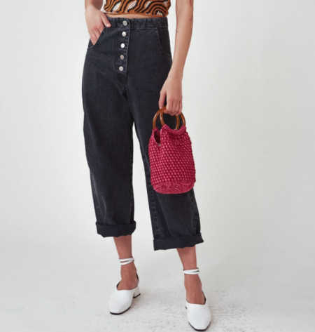 Rachel Comey Praia Bag - Red/Pink