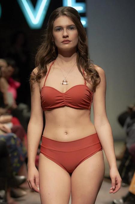 Estivo/Salua Cupped Bikini Top - Burnt Sienna
