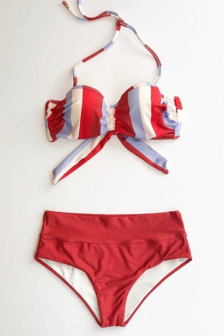 Estivo/Salua Cupped Bikini Top - Multi Stripes