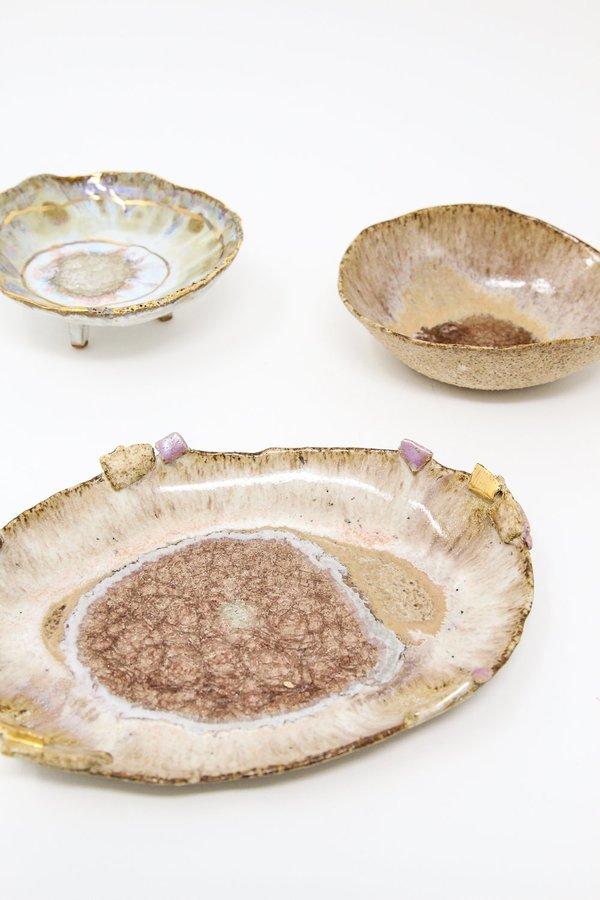 Minh Singer Small Oval Iceland Platter