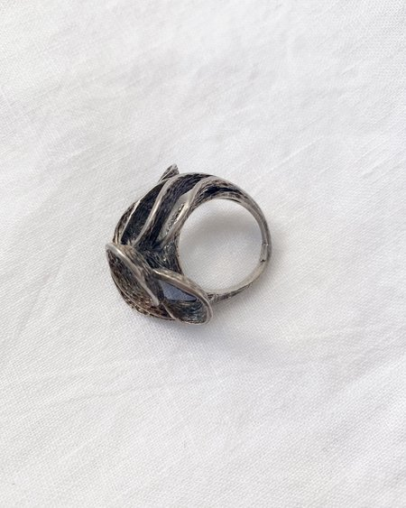 LYLEU OCEAN WAVE RING - Sterling Silver