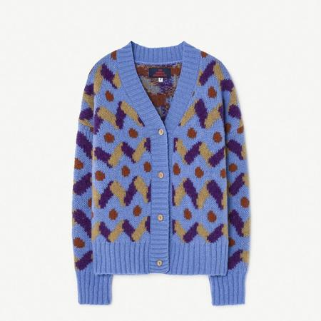 Kids The Animals Observatory Raccoon Cardigan - Blue Multi