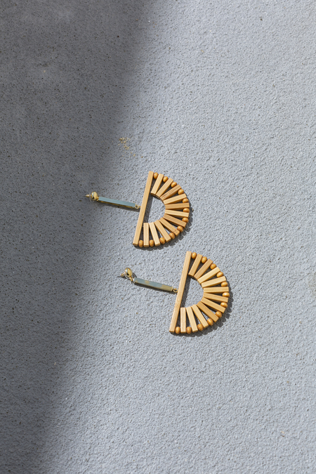 CULT GAIA ARK EARRING - NATURAL