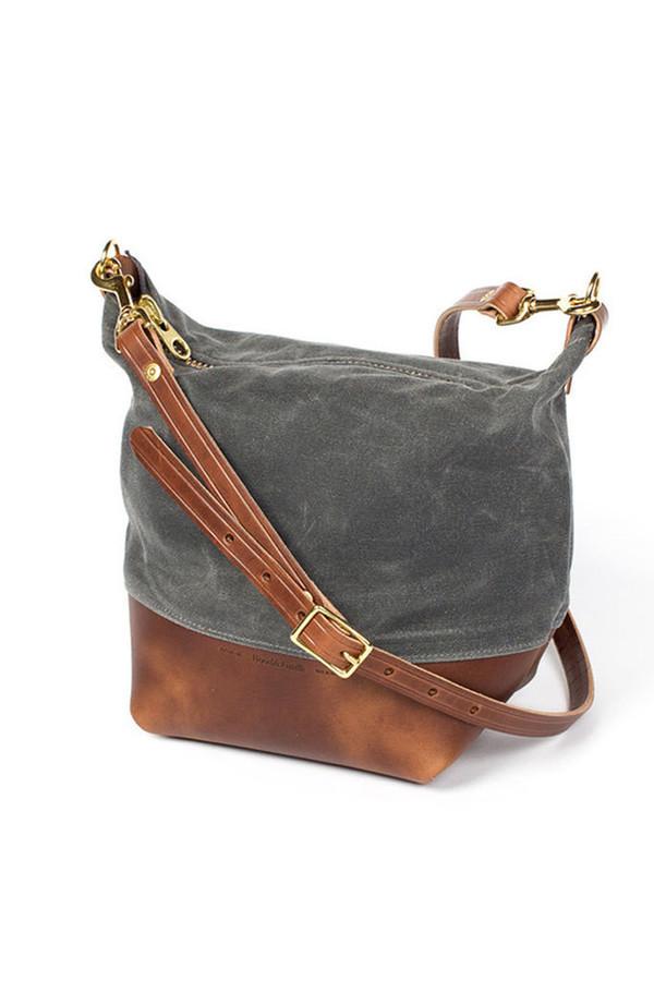 Wood Amp Faulk Field Bag North Coast Grey Garmentory