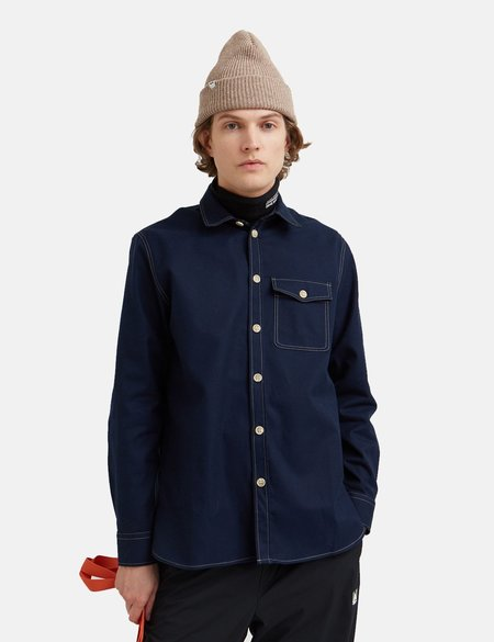 Wood Wood Aske Shirt - Navy