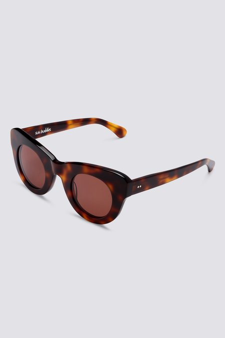 Sun Buddies Acetate Uma eyewear - Brown Tortoise
