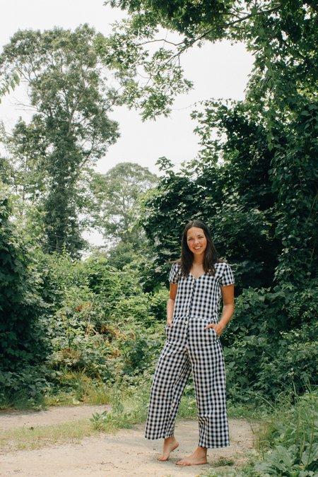 Conrado Kate Jumpsuit with Ties - Gingham