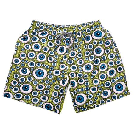 Heroin x Boardies Eyes Board Shorts - Green