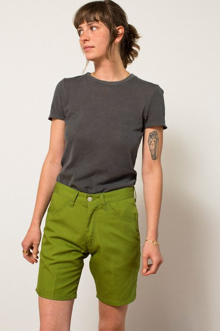 Preservation Vintage Midi Shorts - Green