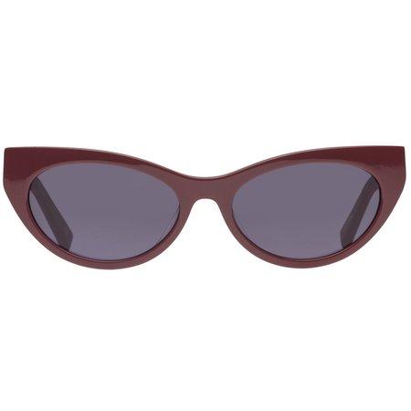 Le Specs Bunny Hop Sunglasses - Pomegranate