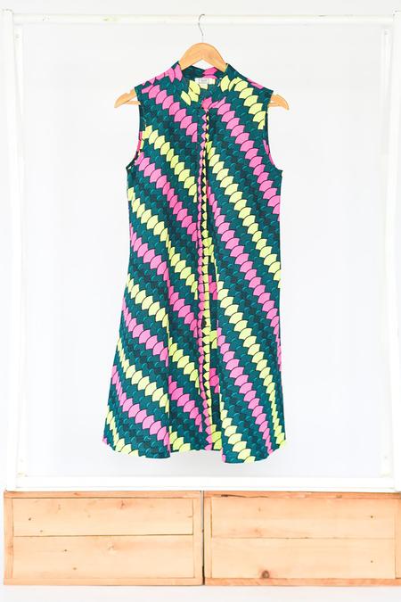 Bhoomki Zuri Sleeveless Dress - Before Sunrise