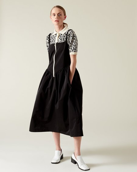 Sandy Liang Steps Dress - Black