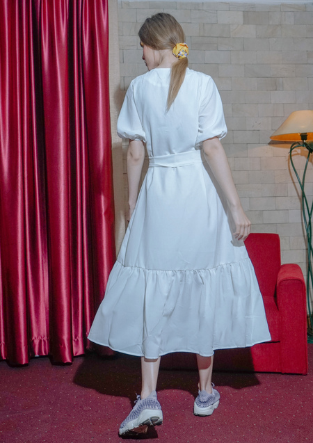 ENSEMBLE THE LABEL SOLSTICE DRESS - WHITE