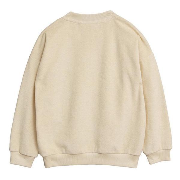 KIDS Mini Rodini Sweatshirt With Stay Weird Print - Off-White
