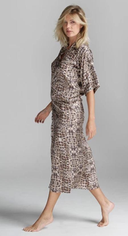 Cali Dreaming Jiro Robe Dress - Chita